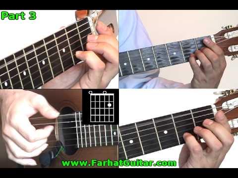 Tears in Heaven Eric Clapton Cover 3 www.Farhatguitar.com