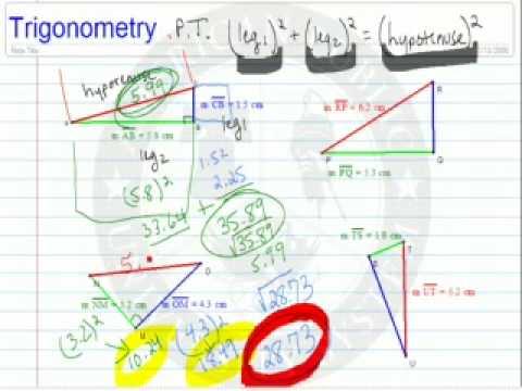Pythagorean Theorem 2 (Problems)