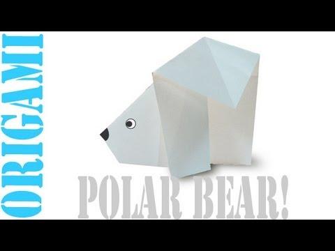 Origami Daily - 260: Easy Polar Bear - TCGames [HD]