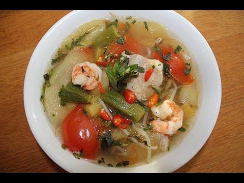 Vietnamese sour soup