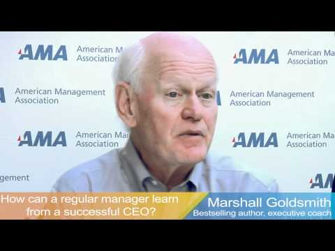 Three Questions for Marshall Goldsmith