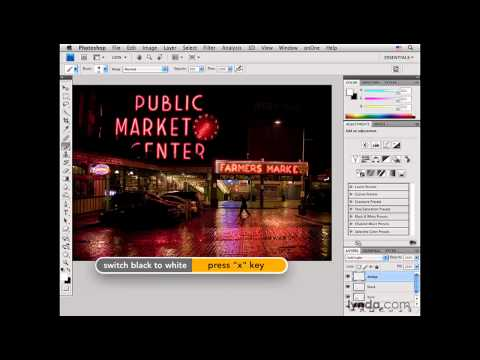 Photoshop: Seattle: Adding light for emphasis | lynda.com