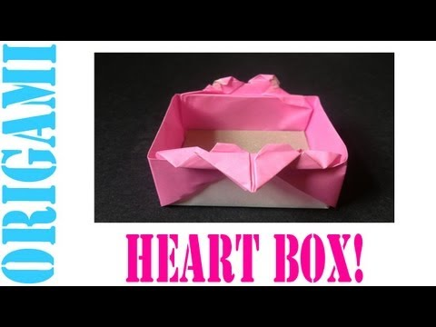 Origami Daily - 029 Valentines Day Heart Basket (By Suhas) - TCGames [HD]