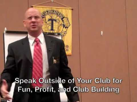 Speak Outside Toastmasters for Fun, Profit, and Club Building