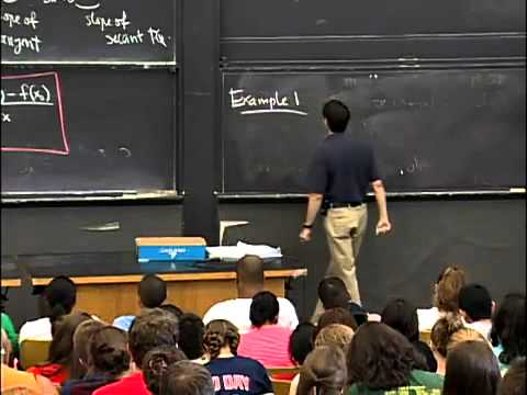 Saylor MA101: Derivatives, slope, velocity, rate of change