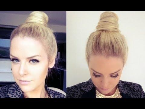 Top Knot / Cone Bun Hair Tutorial
