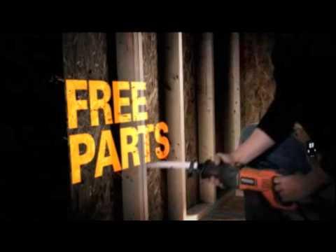 RIDGID Free Batteries, Parts & Service Promotion