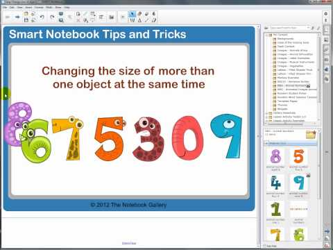 Notebook Tip - Change Size Of Objects