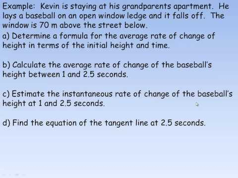 Rates of Change Using Functions.mp4