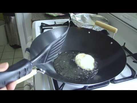 กระเพราไก่ไข่ดาว Chicken with Holy Basil and Fired Egg Part 1