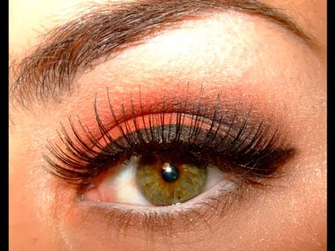 Wearable Halloween Autumn/Fall make up look 2012