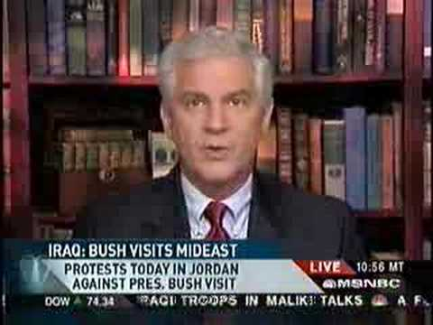 President Bush Travels to Jordan-Can He Salvage Iraq?