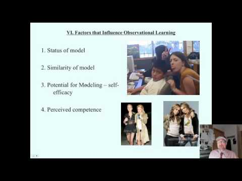 Saylor PSYCH303: Social Learning 5 Factors that Influence Social Learning