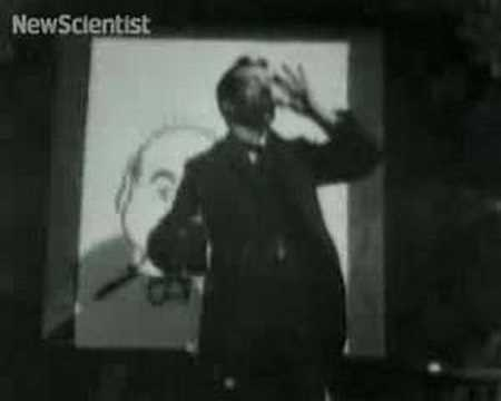The first science films