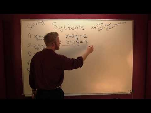 solve a system by elemination 1.mov
