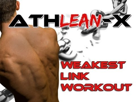 "Workout Video Tip To BUILD MUSCLE - The ""Weakest Link"" Workout!"