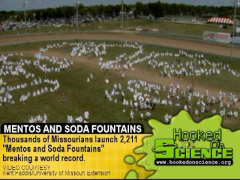 Soda Showers Help Set A World Record