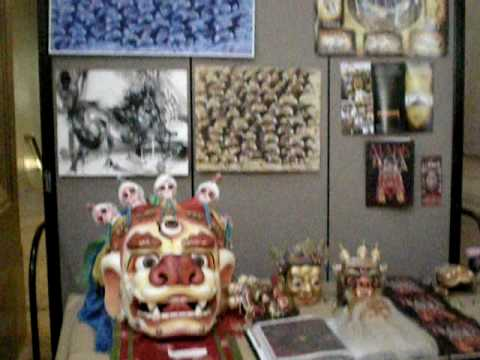 Smithsonian:  APAH craft demo - Mongolian watercolors & masks