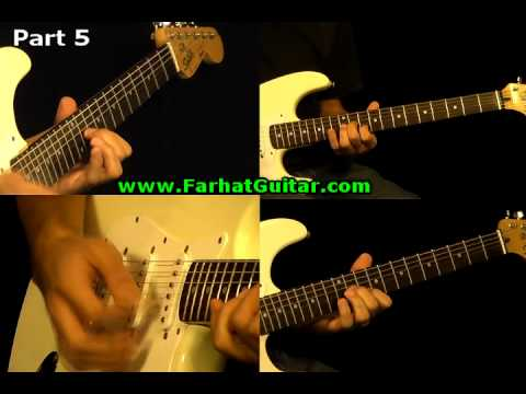 Sunday Bloody Sunday -U2 Guitar Cover Part 5  www.FarhatGuitar.com