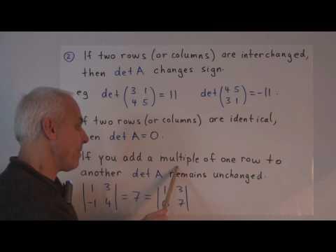 WT71: Determinants in geometry (II)