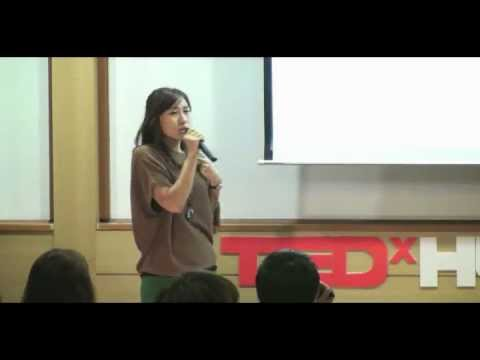 TEDxHUFS - Eun jung Oh - Drawing comes through myself as an universe