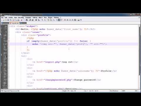 PHP Tutorials: Register & Login (Part 23): Profile Image Upload (Part 1)
