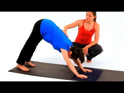 Prenatal Yoga Poses: Downward Dog | Pregnancy Exercises