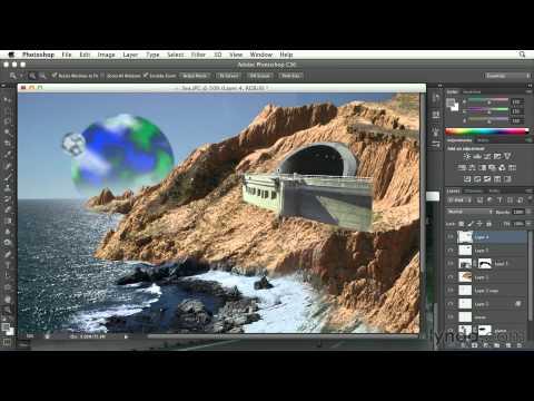 Photoshop tutorial: Adding a building to a digital painting | lynda.com