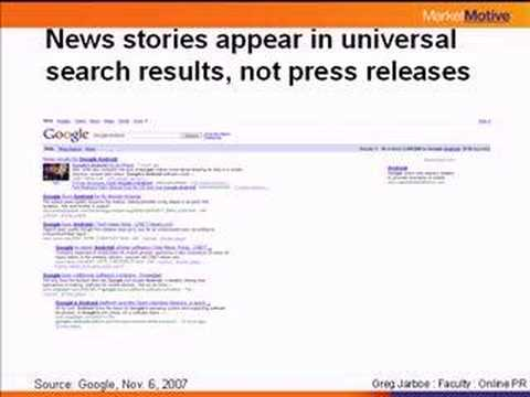 Universal Search - Getting Found in News Results