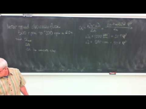 Saylor ME202: Engineering Physics Rigid Body Motion 2