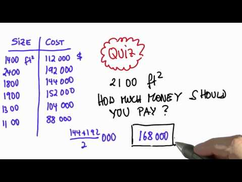 Valuing Houses 4 - Intro to Statistics - Looking at data - Udacity