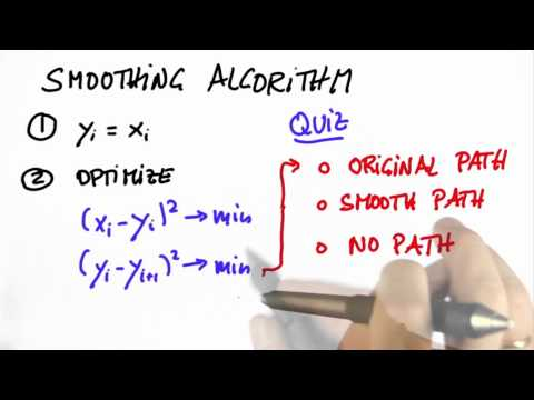 Smoothing Algorithm 2 - CS373 Unit 5 - Udacity