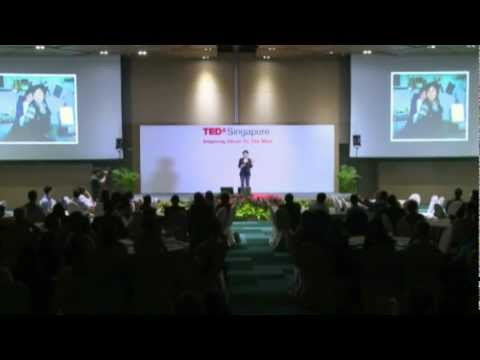 TEDxSingapore - Masami Sato - Imagine a more giving world and life