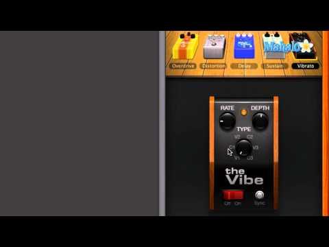 Vibrato Pedal - GarageBand Tutorial