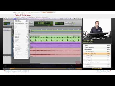 Pro Tools: Fades & Crossfades