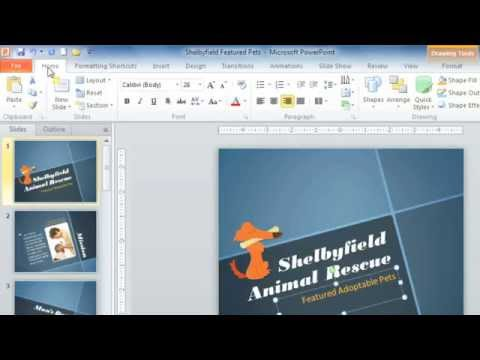 PowerPoint 2010: Environment & Ribbon
