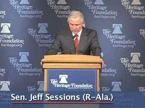 Sen. Jeff Sessions Speaks to Heritage on Missile Defense