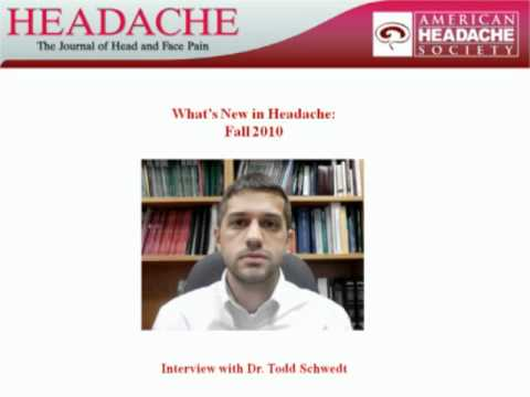 What's New in Headache: Fall 2010