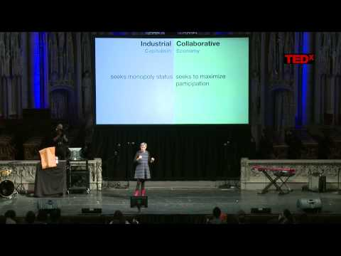 The Collaborative Economy: Robin Chase at TEDxHarlem