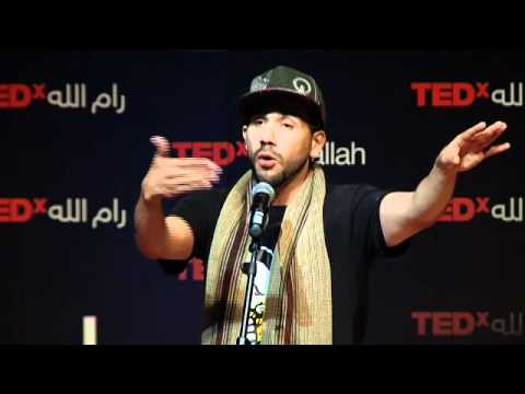 TEDxRamallah - Mark Gonzales مارك غونزالس - Wage Beauty