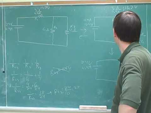 Physics: Electric circuits. Resistors (12)