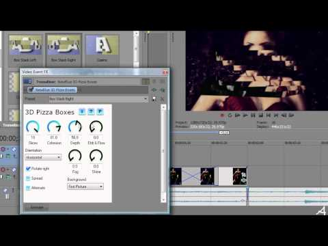 Sony Vegas Tutorial II Transition #3