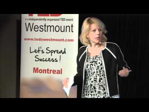 TEDx Westmount. Sylvia Perreault: Don't buy success, sell it!