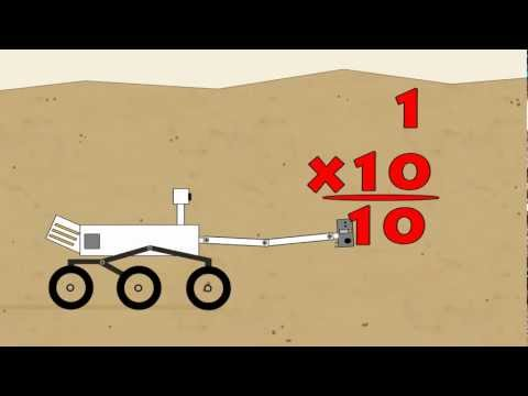 Vids4kids.tv - Mars Rover Multiplication 1 - 10 with 1