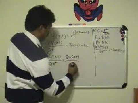Schrodinger Equation - Step wise Derivation Part 2/3