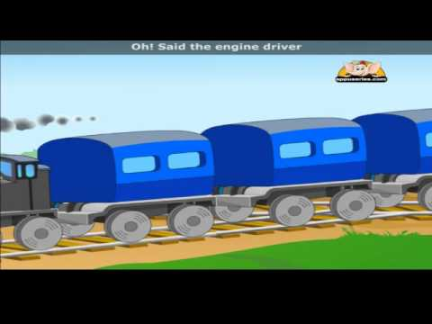 Piggy On The Railway with Lyrics - Nursery Rhyme