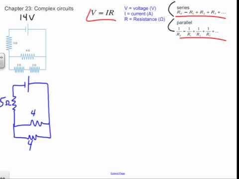 Series and Parallel Circuit Problem, Chapter 23 Review