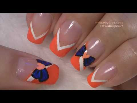 Sailor Moon Venus Inspired Nail Art Tutorial / Arte para las unas  de Sailor Moon Venus