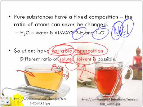 Types of Solutions: Variable Composition and Solubility Part 1