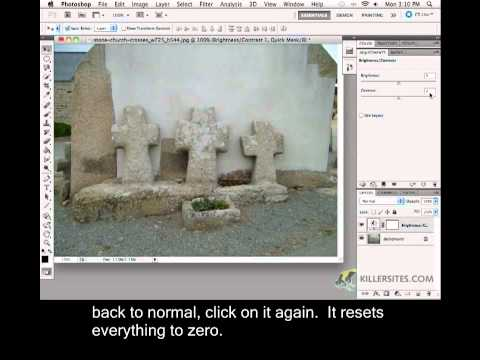Photoshop CS5 Closed Captioned - Adjustment Layer Options